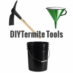 DIY Liquid Termite Treatment tools